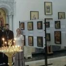В храме благочиния проходит уникальная выставка