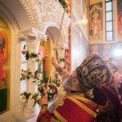 Блаженнейший Онуфрий освятил храм в честь великомученицы Варвары