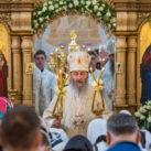 Предстоятель УПЦ совершил Литургию в храме благочиния (+ВИДЕО)