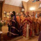 Отец благочинный сослужил епископу Варсонофию